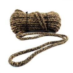 Lanex Polypropylenová šňůra pletená bez jádra CAMOUFLAGE 20m 6mm