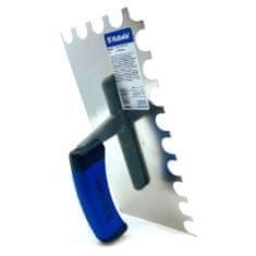 Kubala Hladítko nerezové s půlkulatým zuby 130x270mm