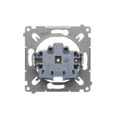 Kontakt-Simon S.A. Jedno zásuvka s uzemněním (přístroj) 16A 250V 75x75x32mm
