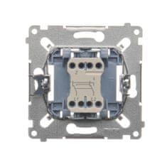 Kontakt-Simon S.A. Křížový spínač (strojek) 10AX 250V 75x75x32mm