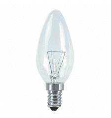 Techlamp Žárovka svíčková čirá 60W E14 640 lm 10 ks
