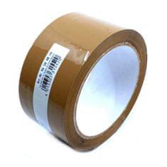 CIRET Páska balicí 66m hnědá 48mm 2 ks