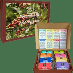 ZrnkovéKávy.sk Degustačný balíček zrnkových odrodových káv - zrnková káva