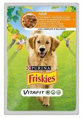 "Friskies ""VitaFit ADULT"" z kurczakiem i marchewką, 20x 100 g"