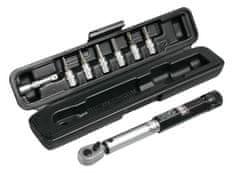 PRO Kľúč momentový nastaviteľný 3-15 Nm v puzdre