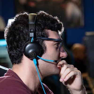 modern Bluetooth fejhallgató jlab gyors reagálás nagyszerű hang gyors töltés hosszú élettartam a füleken hang játékhoz behúzható mikrofonra hangolva