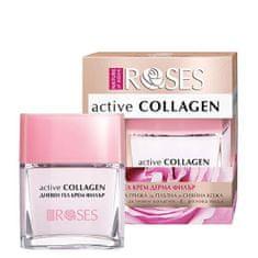 ELLEMARE Denný gélový krém pre zrelú pleť Roses Active Collagen (Wrinkle Filler Gel Cream) 50 ml