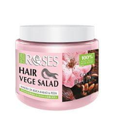 ELLEMARE Vitalizačný maska na vlasy Roses vege Salad ( Hair Mask) 500 ml