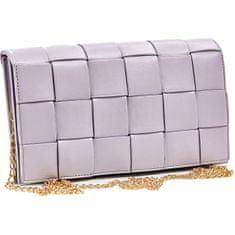 Verde Dámska crossbody kabelka 01-1383 lilac