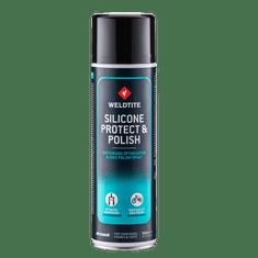 Weldtite Mazací, leštiaci a voskovací silikonový olej Silicone Protect & Polish Spray 500ml