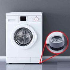 Netscroll 4-dielna sada protihlukových a protišmykových podložiek pre práčku, AntiSlipStar