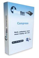 StopBac STERILE Kompres na chronické rány 10x15 cm 5 ks