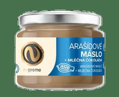Nupreme Arašídové máslo s mléčnou čokoládou 220g