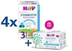 HiPP 3 Junior Combiotik Batolecí mléko 4x700 g