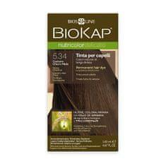 BioKap NUTRICOLOR DELICATO - farba na vlasy - 5.34 Medová gaštanová 140 ml