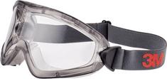 3M 2891-SGA ochranné brýle, nepřímé odvětrání, Scotchgard ochrana proti zamlžování, čiré