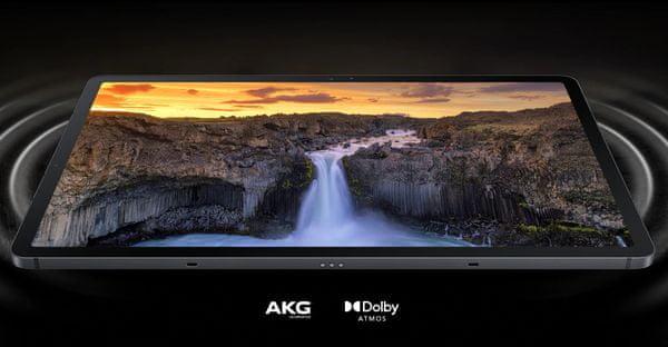 Tablet Samsung Galaxy Tab S7 FE 5G veľký výkonný tablet tenký tablet veľký displej 12.4 palcov TFT FHD+ rozlíšenie predný aj zadný fotoaparát Android 11 veľkokapacitná batéria detský mód detská ochrana rýchlonabíjanie podpora 5G pripojenie najrýchlejší internet WiFi pripojenie výkonný procesor Qualcomm Snapdragon 750G 4GB RAM veľké úložisko slot na pamäťové karty Bluetooth tenké telo výkonný tablet dostupná cena dlhá výdrž batérie Bluetooth vysokokapacitná batéria 45 W rýchlonabíjanie
