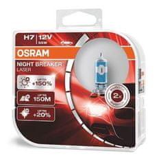 Osram Žárovka H7 Nightbreaker Laser +150% 2ks PX26d 12V 55W