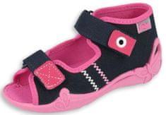 Befado sandały dziewczęce Papi 242P056