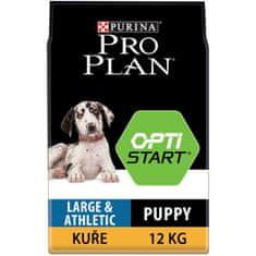 Purina Pro Plan hrana za mladiče velikih pasem Athletic 12kg