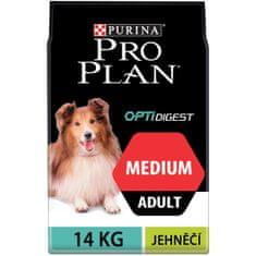 Purina Pro Plan sucha karma dla psa Medium Adult Sensitive Digestion, z jagnięciną 14kg