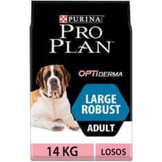 Purina Pro Plan sucha karma dla psa Large Adult Robust Sensitive Skin OPTIDERMA 14 kg