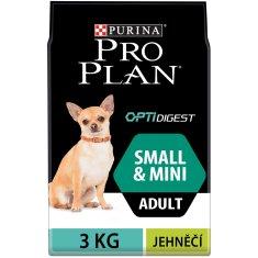 Purina Pro Plan hrana za odrasle pse mini in majhne pasme z občutljivo prebavo 3kg