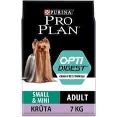 Purina Pro Plan Small & Mini Adult OPTIDIGEST Grain Free indyk 7 kg