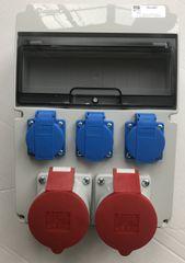 AEP Stavební rozvaděč AEP RSJ-0203, 2x32A 5P, 3x 230V
