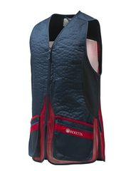 Beretta Střelecká vesta Silver Pigeon Evo, Beretta * Barva: modro - červená, Velikost: XL