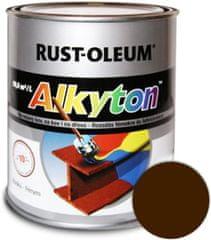 Alkyton Lesklá R8011 hnědá oříšková 750ml