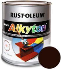 Alkyton Lesklá R8017 hnědá tmavá 750ml