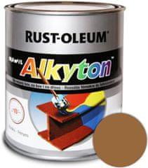 Alkyton Lesklá R8001 hnědá okrová 250ml