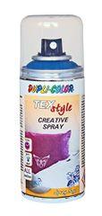 DUPLI COLOR Barva na textil stříbrná 150ml