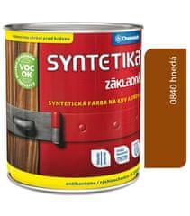 Chemolak Syntetika S2000 0840 tmavočervená 0,6l - základní barva
