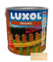 LUXOL Originál bílý 0010 2,5L - tenkovrstvá lazura