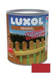 LUXOL Originál červeň rumělková 0081 0,75L - tenkovrstvá lazura