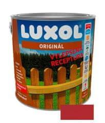 LUXOL Originál červeň rumělková 0081 2,5L - tenkovrstvá lazura