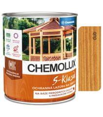 Chemolak S1040 Chemolux S-Klasik 0631 dub 2,5l - matná ochranná lazura na dřevo
