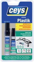 Ceys Special Plastik lepidlo na obtížně plasty 3g + 4ml