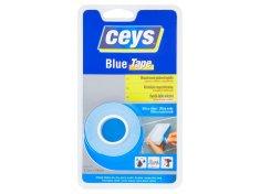 Ceys Blue tape oboustranná lepicí páska 1,5m x 19mm