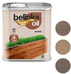BELINKA Oil Decking 0,75L 205 šedá - olej na terasy a zahradní nábytek