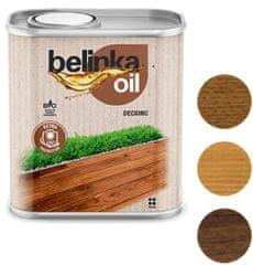 BELINKA Oil Decking 2.5L 202 ořech - olej na terasy a zahradní nábytek