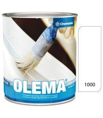 Chemolak Olem O2117 bílá 1000 0,75l - vrchní olejová barva lesklá