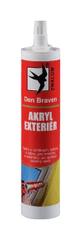 Den Braven Tmel Akryl Exteriér bílý 310ml