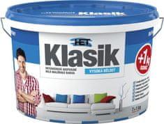 HET Klasik bílý 7kg + 1kg zdarma - interiérová barva
