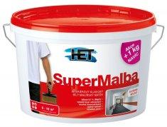 HET Supermalba 15kg + 3kg zdarma - interiérová barva
