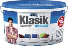 HET Klasik bílý 15kg + 3kg zdarma - interiérová barva