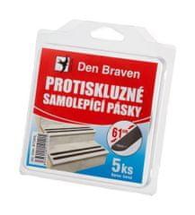 Den Braven Protiskluzová samolepící páska 1,9x61cm 5ks