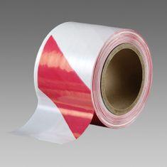 Den Braven Bariérová páska červeno bílá 75mm 500m